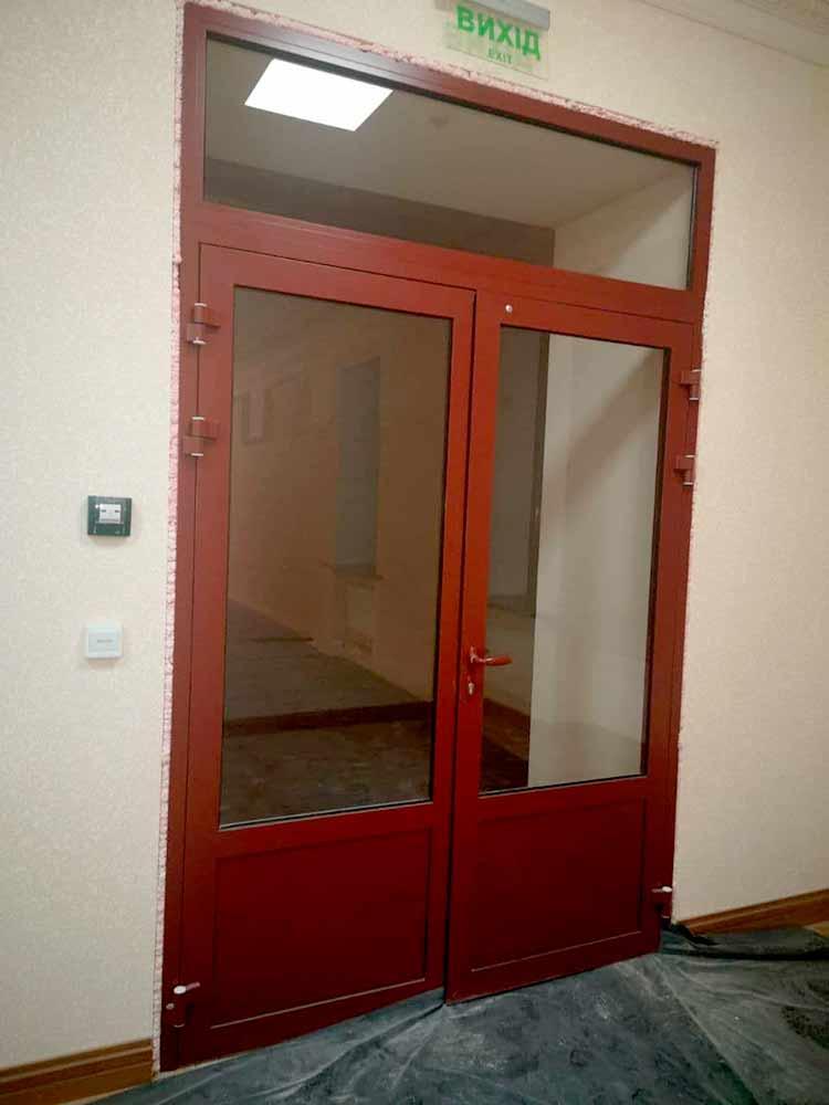 Противопожарные окна и двери от производителя по доступным ценам в Украине, Днепр